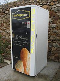 Distributeurs automatiques de pain