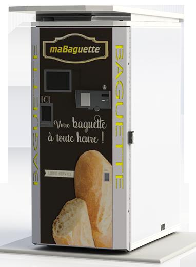 Distributeurs automatiques de baguettes de pain