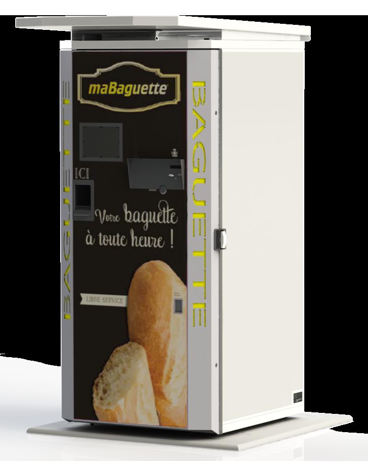 Nouveau distributeur de pain