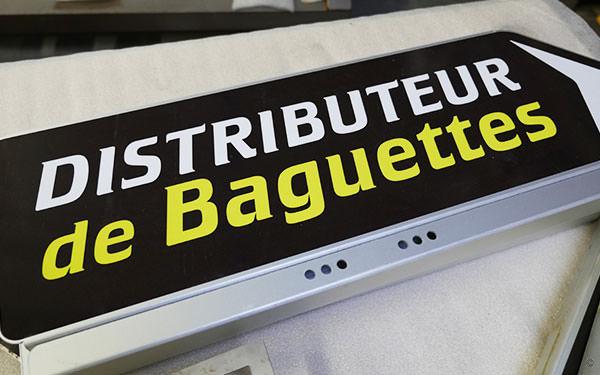 Prix d'un distributeur de baguettes de pain