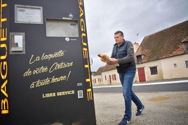 Distributeurs maBaguette installés dans l'Allier