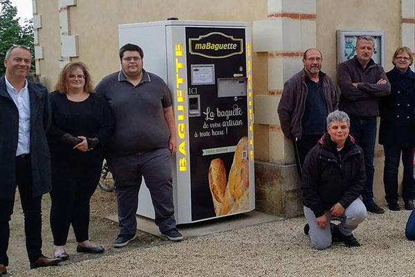 Ouest France distributeur maBaguette en Maine et Loire