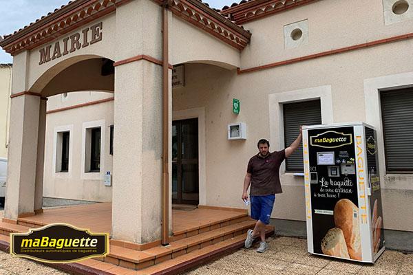 Fonctionnement distributeur automatique de pain maBaguette