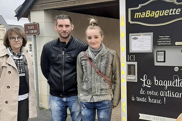 distributeur automatique de pain Ouest France