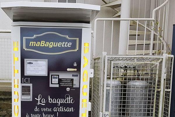 Distributeur automatique de Baguettes dans le Morbihan