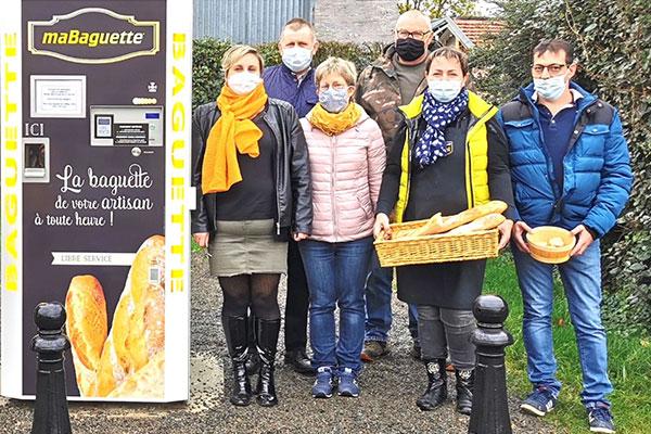 Distributeur automatique de baguettes dans l'Oise