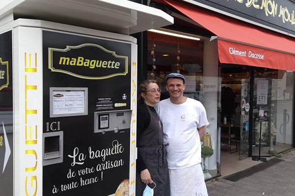 Distributeur automatique de baguettes Ouest France