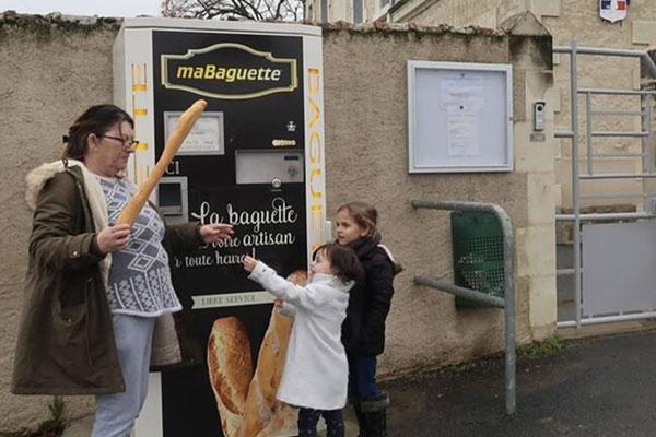 Distributeur de baguettes