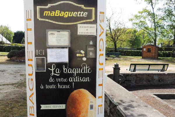 Distributeur automatique de baguettes en Maine et Loire