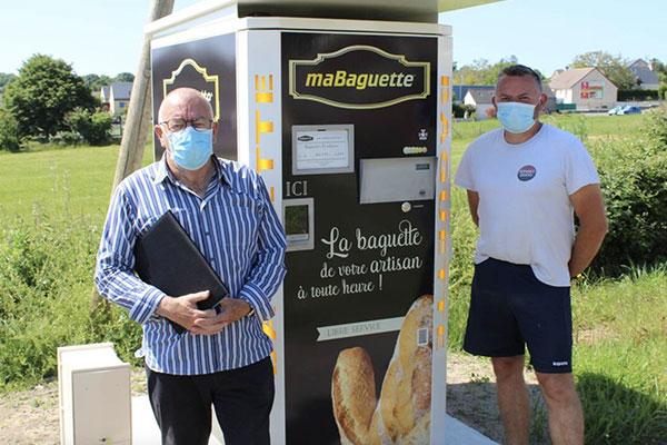 Distributeur automatique de baguettes Ouest-France