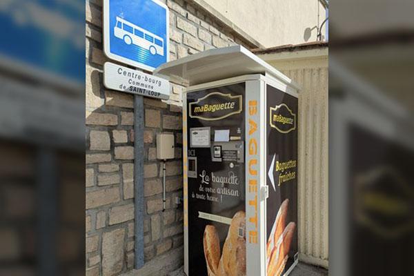 Ditributeur automatique de pain dans La Manche